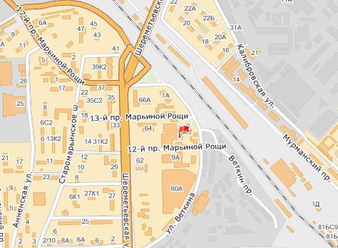 Карта проезда - зао максмебель